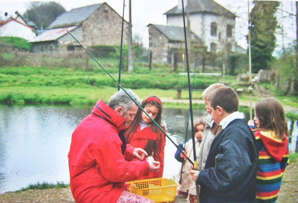 Pêche à la truite aux étangs de Marfon